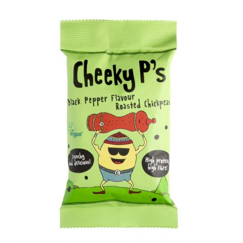 Cheeky P's Black Pepper Flavoured Roasted Chickpeas 50g